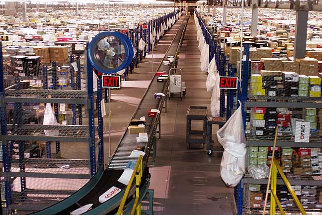 Zappos Kentucky distribution facility