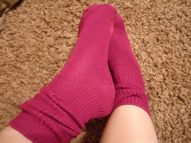Feet in Socks Amy Guth